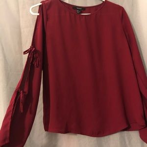Burgundy dress top from forever 21.
